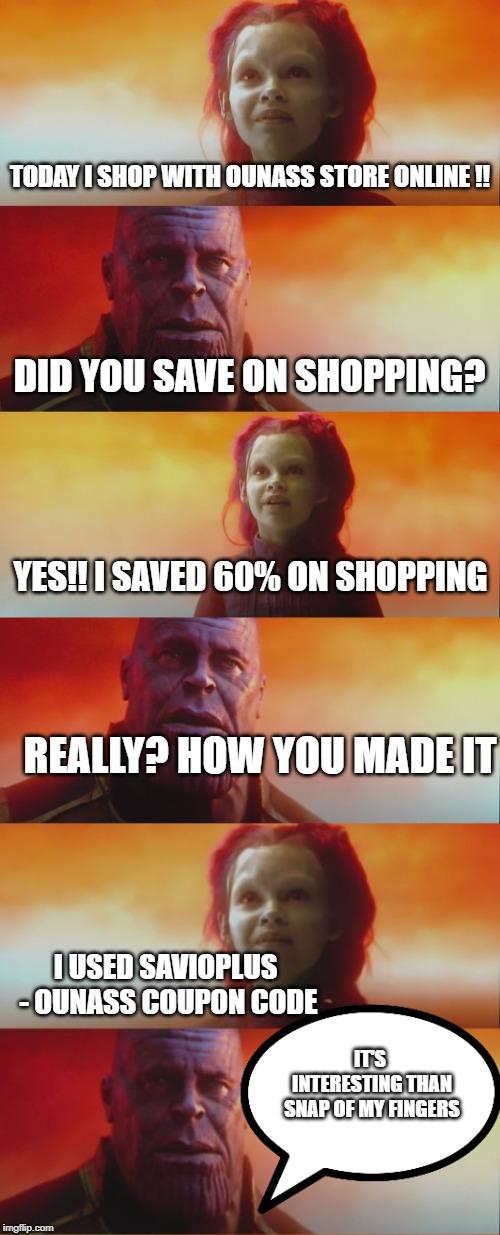 Avengers Savings With Ounass Coupon Code