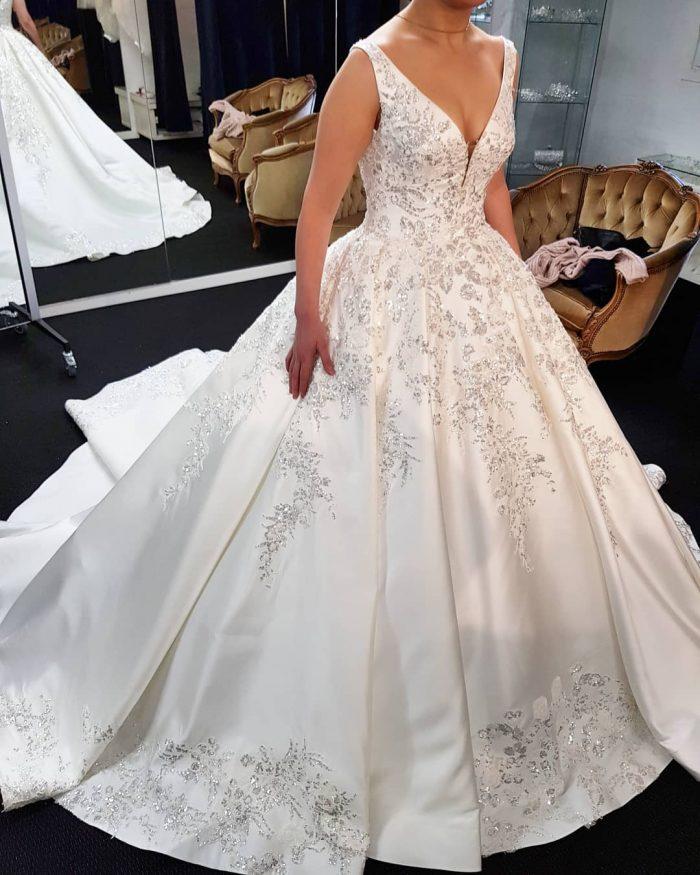 Billige Brautkleider Online   Elegante Hochzeitskleider Prinzessin