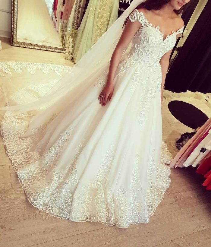 Designer Brautkleider Mit Spitze   Tüll Hochzeitskleider Online