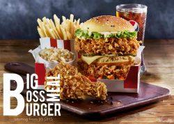 KFC Big Burger Meal