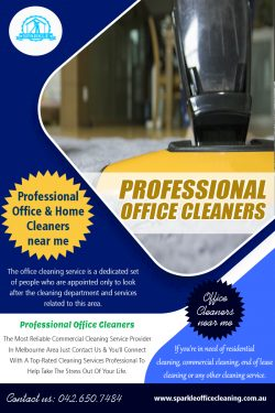 Professional office cleaners