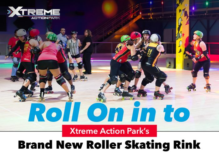 Roll On in to Xtreme Action Park's Brand New Roller Skating Rink