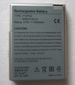 4400mAh 14.8V 8 Cellules Batterie pour ordinateur portable SSB-P10CLS