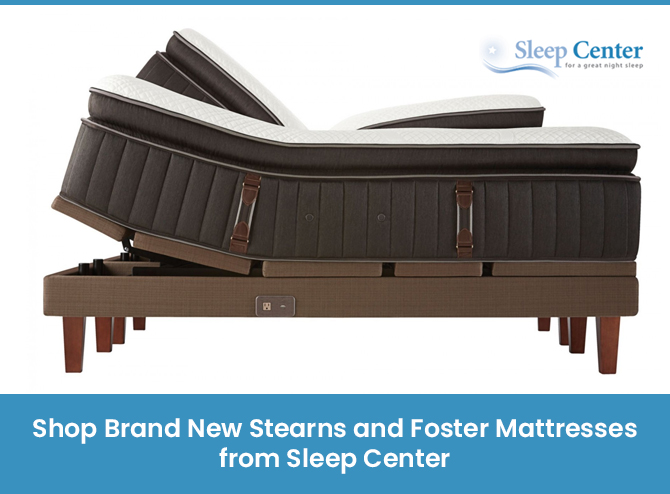 Shop Brand New Stearns and Foster Mattresses from Sleep Center