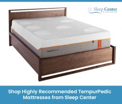 Shop Highly Recommended TempurPedic Mattresses from Sleep Center