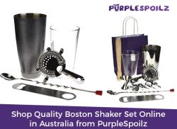 Shop Quality Boston Shaker Set Online in Australia from PurpleSpoilz