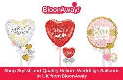 Shop Stylish and Quality Helium Weddings Balloons in UK from BloonAway