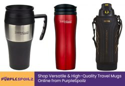 Shop Versatile & High-Quality Travel Mugs Online from PurpleSpoilz