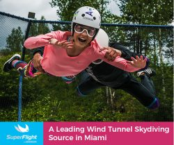 SuperFlight – A Leading Wind Tunnel Skydiving Source in Miami