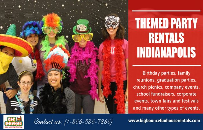 Themed Party Rentals Indianapolis | Call – 1-866-586-7866 | bigbouncefunhouserentals.com