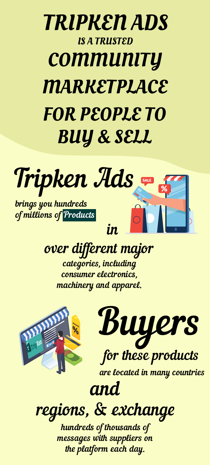 TripKen Ads – Best Place to Buy and Sell Products and Services