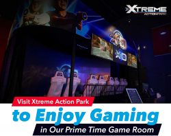 Visit Xtreme Action Park to Enjoy Gaming in Our Prime Time Game Room