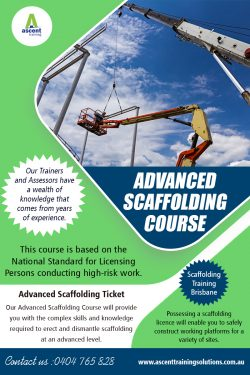 Advanced Scaffolding Course