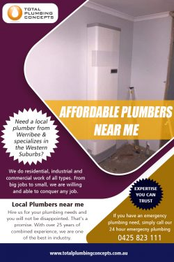 Affordable Plumbers near me