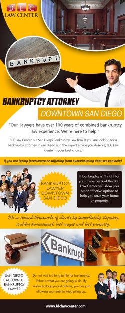 Bankruptcy Attorney Downtown San Diego