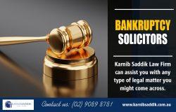 Bankruptcy Solicitors | Call-0290898781 | karnibsaddik.com.au