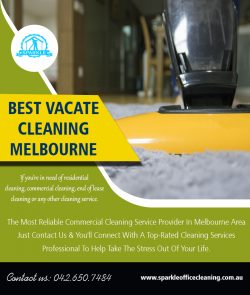 Best Vacate Cleaning Melbourne