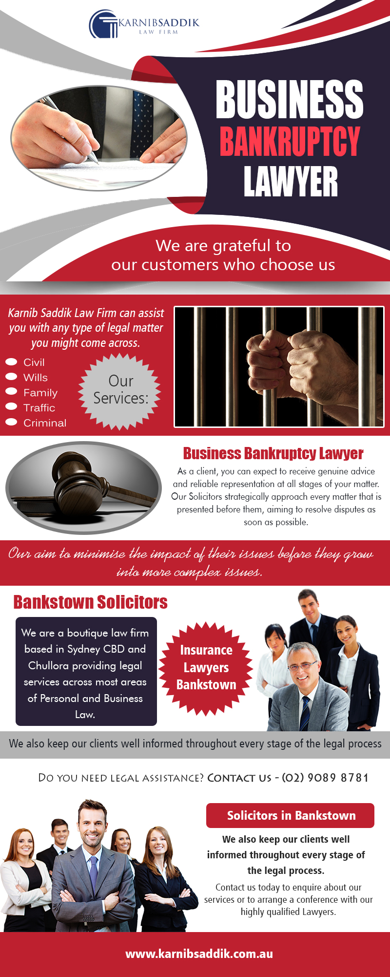 Business Bankruptcy Lawyer | Call-0290898781 | karnibsaddik.com.au