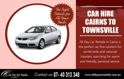 Car Hire Cairns to Townsville