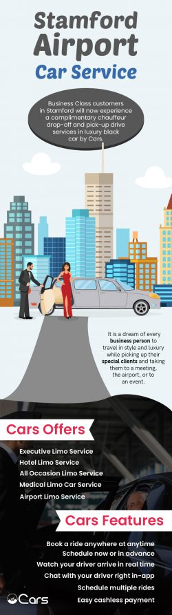 Choose Cars.limo for Luxurious Airport Car Service in Stamford