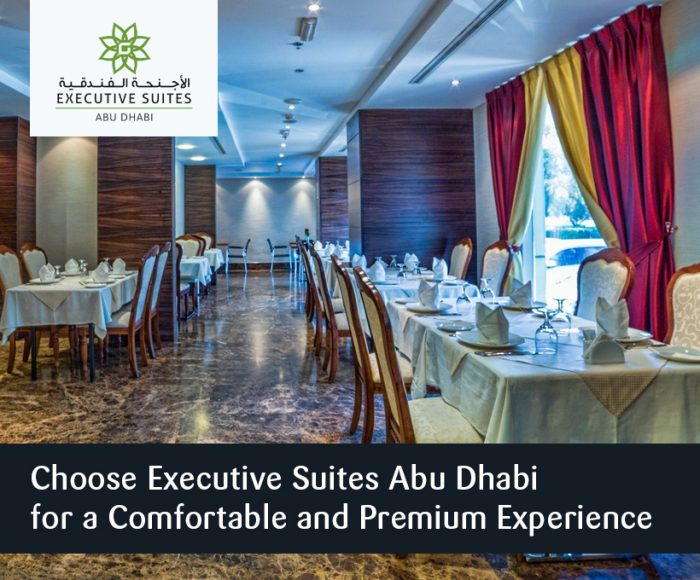 Choose Executive Suites Abu Dhabi for a Comfortable and Premium Experience