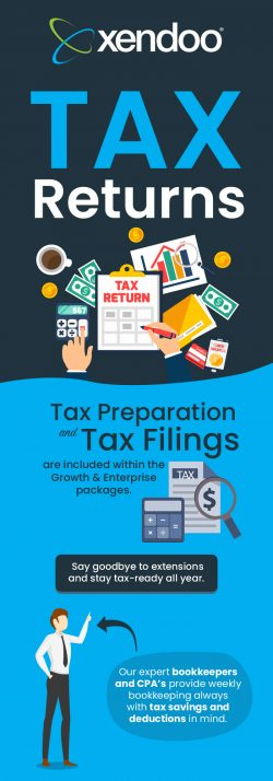 Choose Xendoo for Tax Preparation & Tax Filing Services in the USA