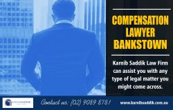 Compensation Lawyer Bankstown | Call-0290898781 | karnibsaddik.com.au