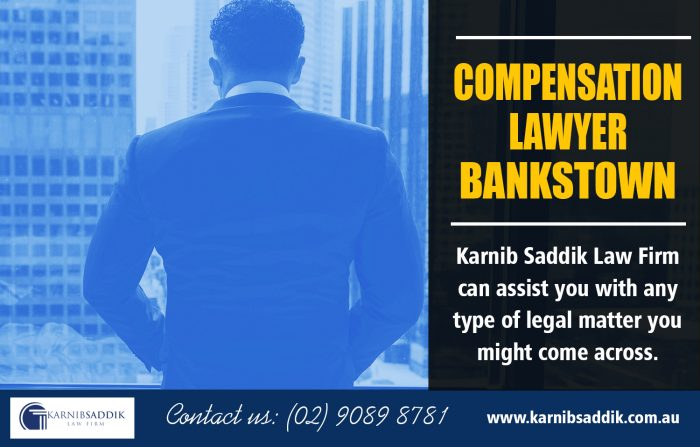Compensation Lawyer Bankstown | Call-0290898781 | karnibsaddik.com.au