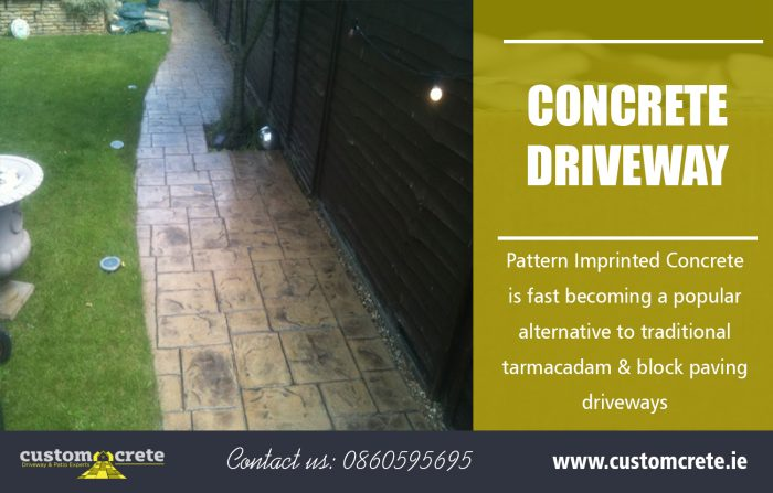 Concrete Driveway | Call us 0860595695 | customcrete.ie