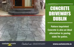 Concrete Driveways Dublin | Call us 0860595695 | customcrete.ie