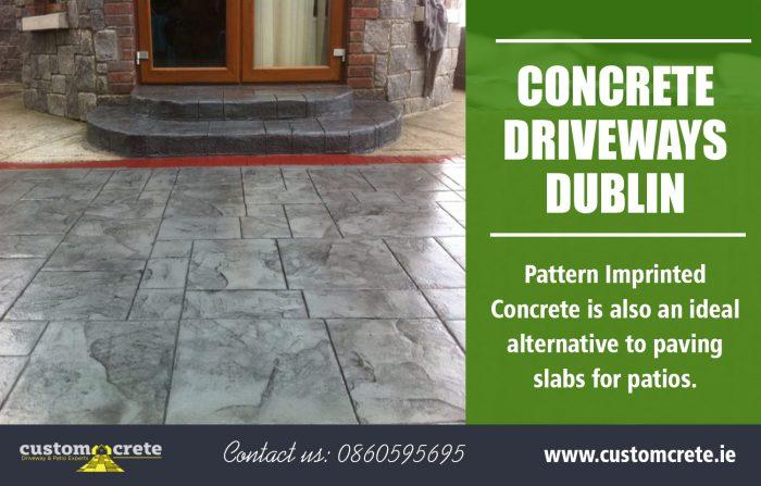 Concrete Driveways Dublin | Call us 0860595695 | customcrete.ie