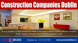 Construction companies dublin