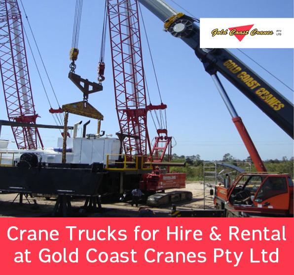 Crane Trucks for Hire & Rental at Gold Coast Cranes Pty Ltd