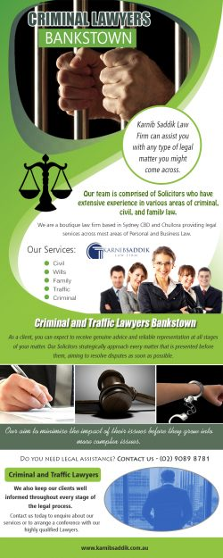 Criminal Lawyers Bankstown | Call-0290898781 | karnibsaddik.com.au