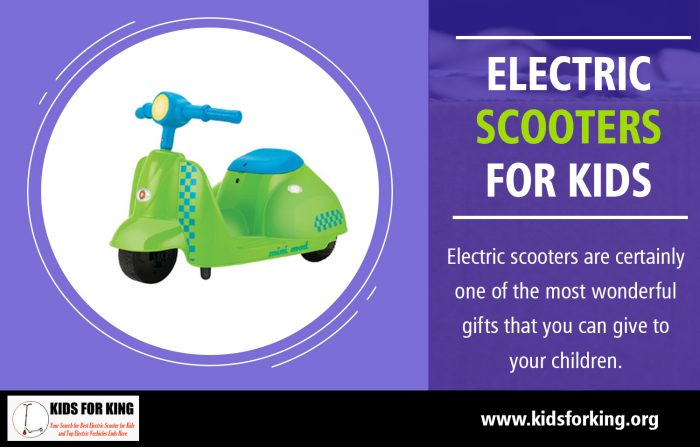 Electric Scooters for Kids | kidsforking.org