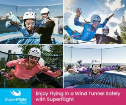 Enjoy Flying in a Wind Tunnel Safely with SuperFlight
