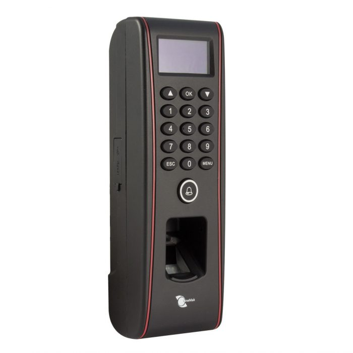TCP/IP IP65 waterproof fingerprint+RFID access control