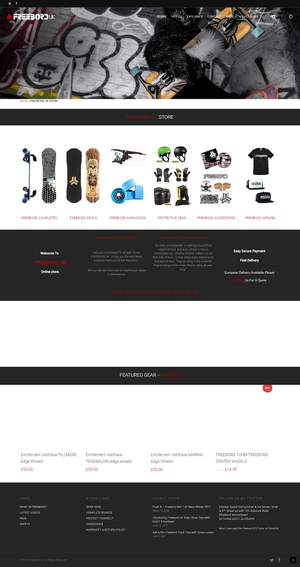 Freeboard For Sale