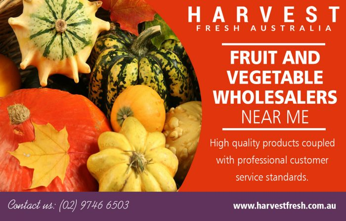 Fruit and Vegetable Wholesalers near me | Call – 02 9746 6503 | harvestfresh.com.au