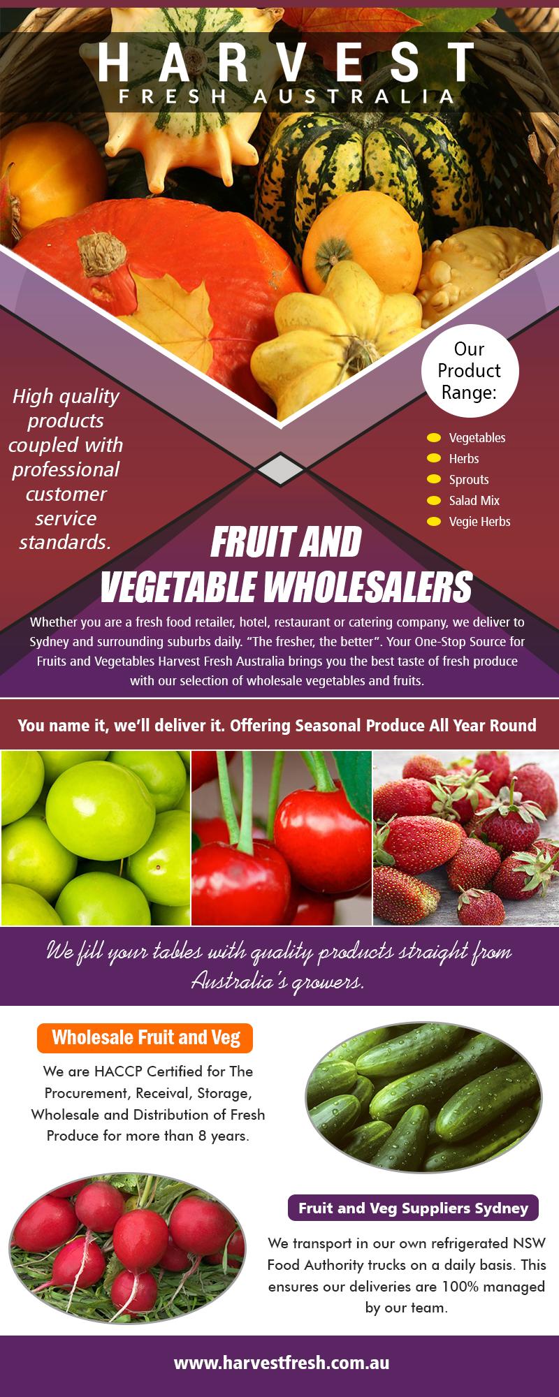 Fruit And Vegetable Wholesalers Sydney | Call – 02 9746 6503 | harvestfresh.com.au