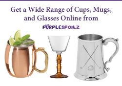 Get a Wide Range of Cups, Mugs, and Glasses Online from PurpleSpoilz