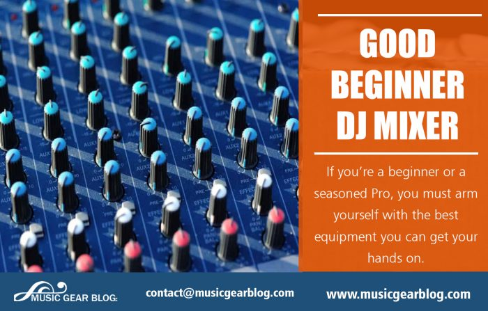 Good Beginner DJ Mixer