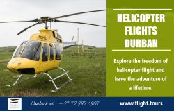 Helicopter Flights Durban | Call – 27729976907 | www.flight.tours