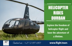 Helicopter Rides Durban | Call – 27729976907 | www.flight.tours