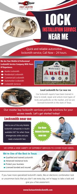 Lock Installation Service near me