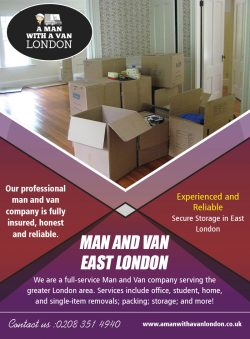 Man and Van East London