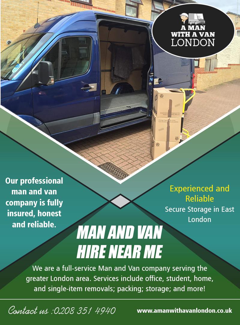 Man and van hire near me