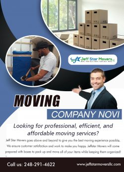 Moving Company Novi