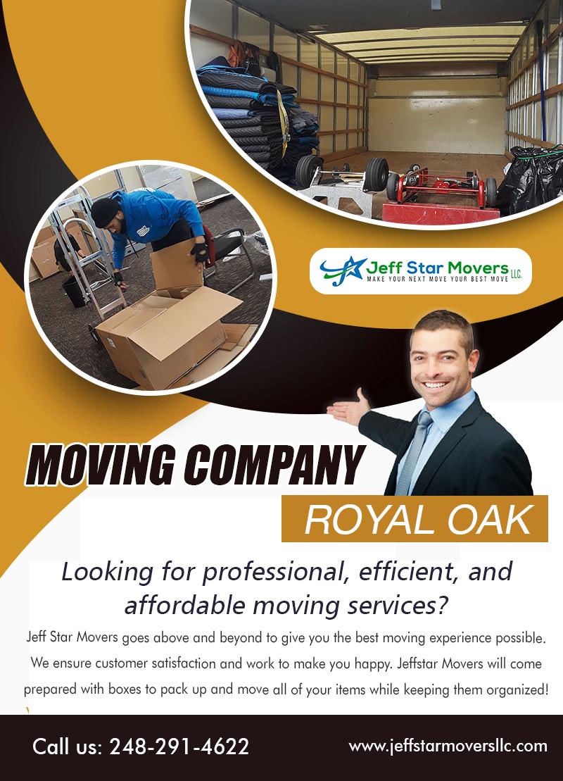 Moving Company Royal Oak