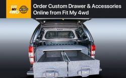 Order Custom Drawer & Accessories Online from Fit My 4wd